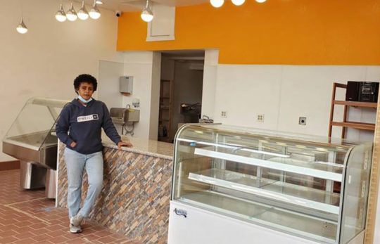 Tegsti Woldemichael and her new business