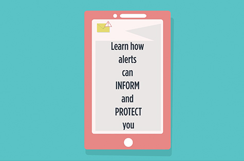 infographic: learn how alerts can inform and protect you