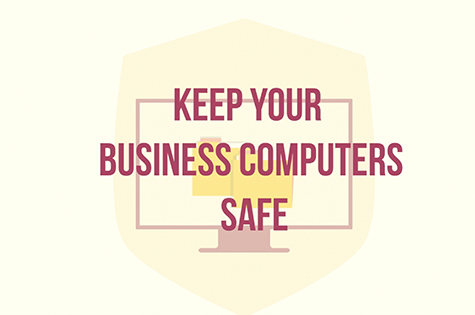 infographic: keep your business computers safe