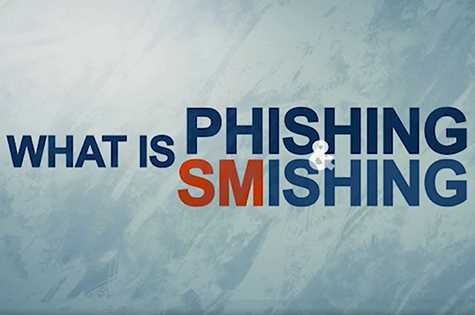 infographic: what is phishing and smishing?